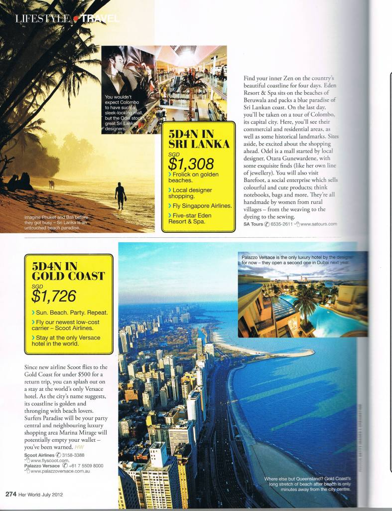 Lifestyle Best Chic&Cheap Trips Under $2000 pg 6