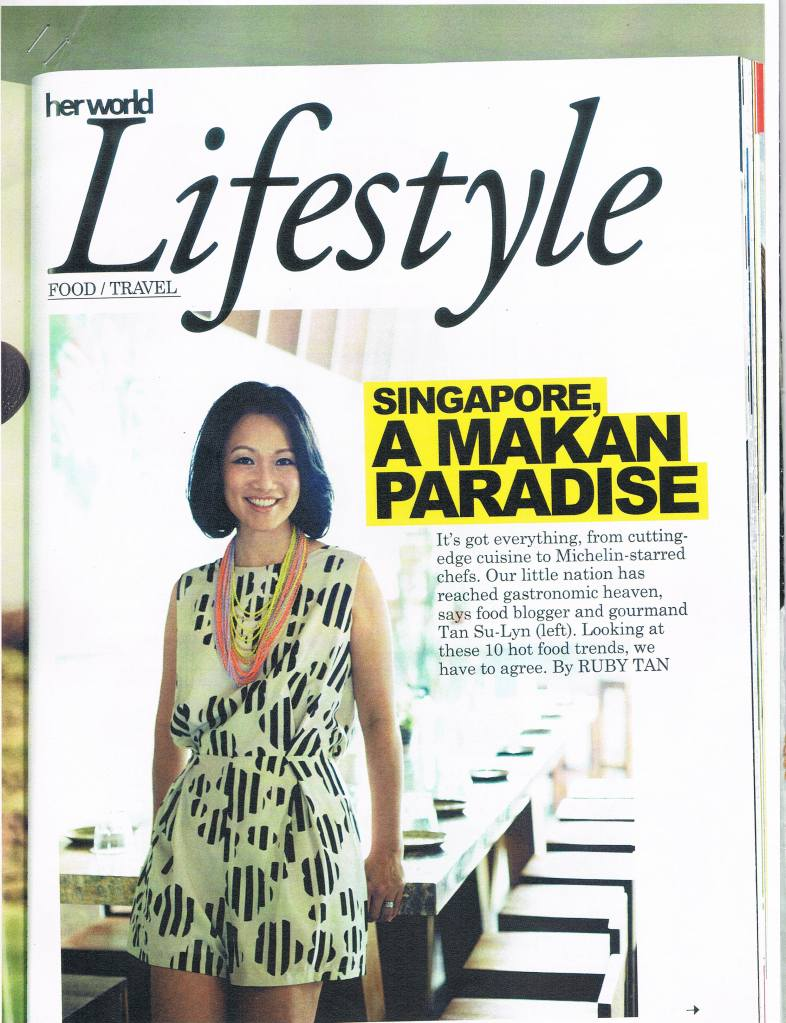 Lifestyle Singapore Food Scene pg 1