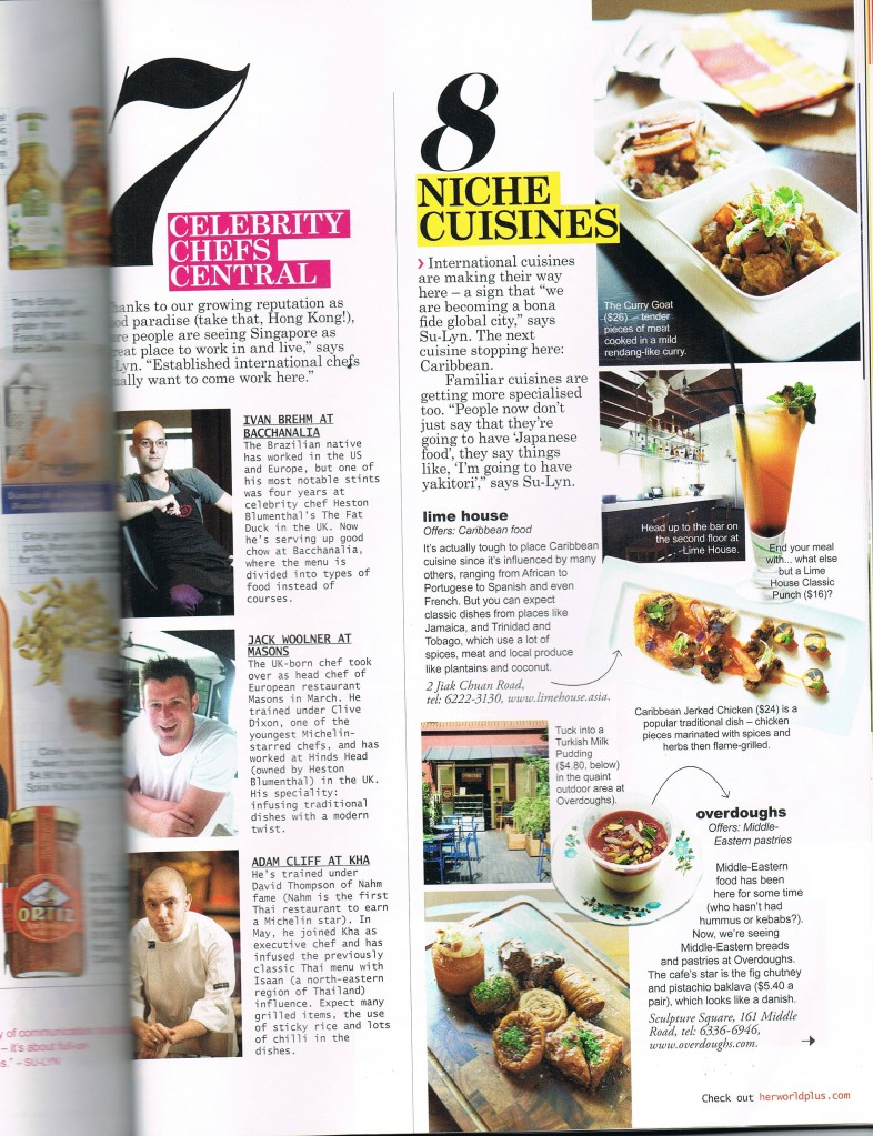 Lifestyle Singapore Food Scene pg 7