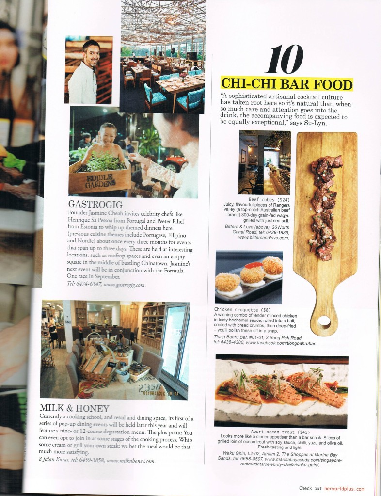 Lifestyle Singapore Food Scene pg 9